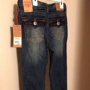True Religion Boys Straight Jeans -14